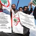 GOTC demonstrations around the world in support of free Lebanon - 2005