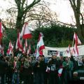 Syrian Embassy Sit-In London 13.12.2005 (Gebran Tueni)
